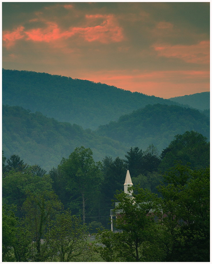 Church in the Smokies, Tennessee