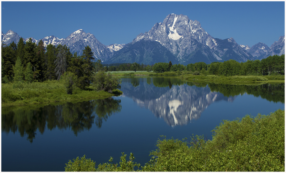 Snake River, Oxbow Bend, Grand Teton N.P.