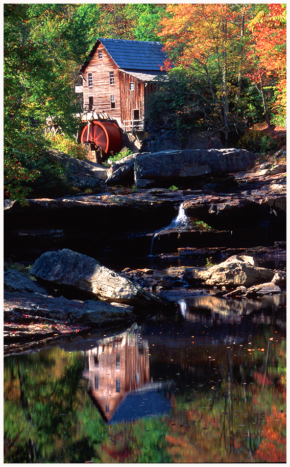 Glade Creek Grist Mill, Babcock S.P., West Virginia
