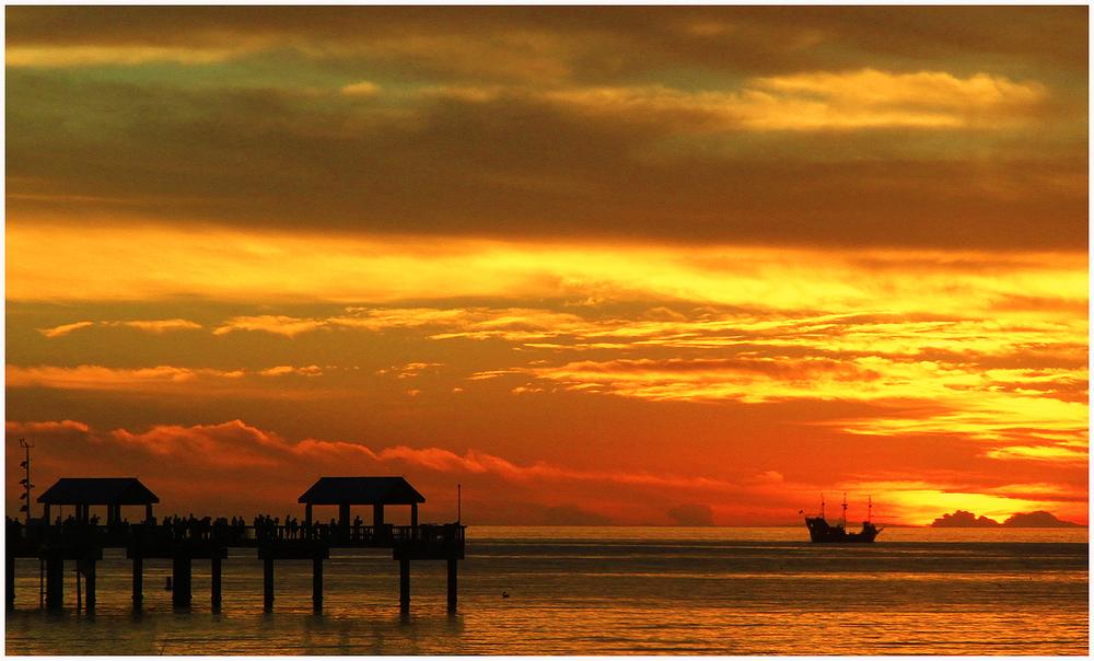 Sunset, Clearwater Beach, Florida