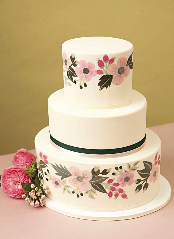 Wedding Cakes Seattle | Custom Wedding Cakes Honey Crumb Cake Studio Seattle Bakery