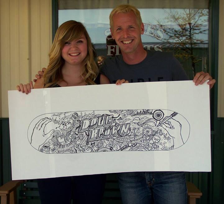 'Innerscape' artist Carissa & Doug