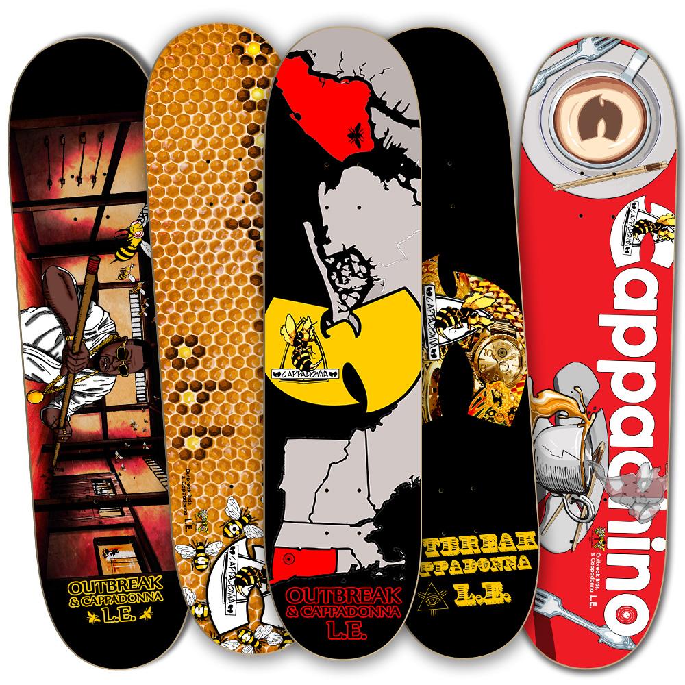 Killa Bee deck display.jpg