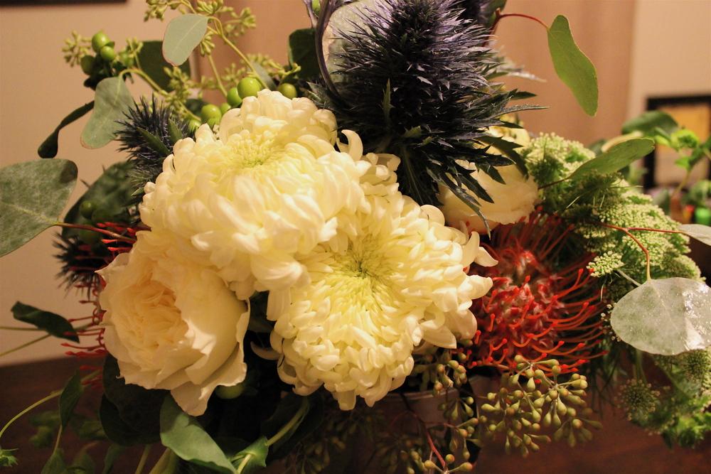 Bride's bouquet close-up