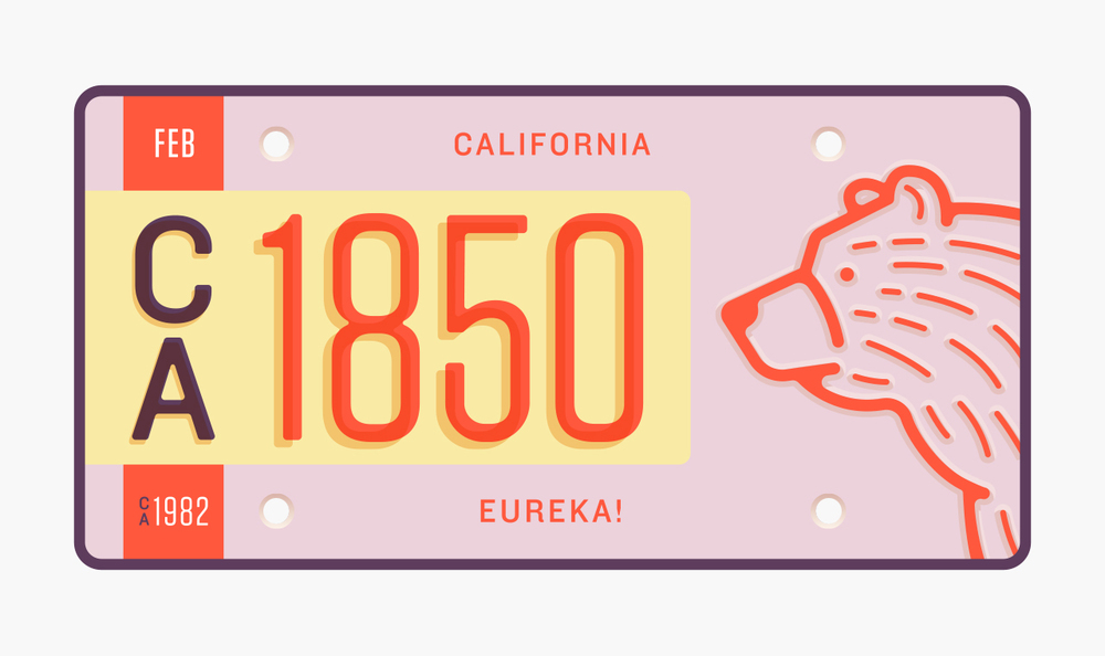 stateplate_californiaplate