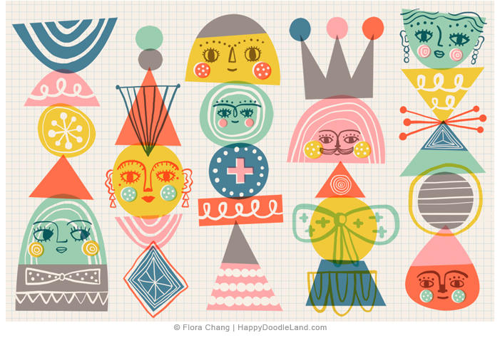 Geo+Totems+©+Flora+Chang+-+Happy+Doodle+Land.png