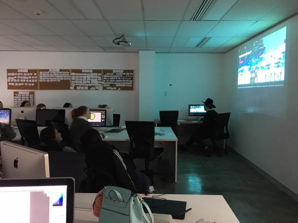 Teaching Pixel art to MLC Girls High School