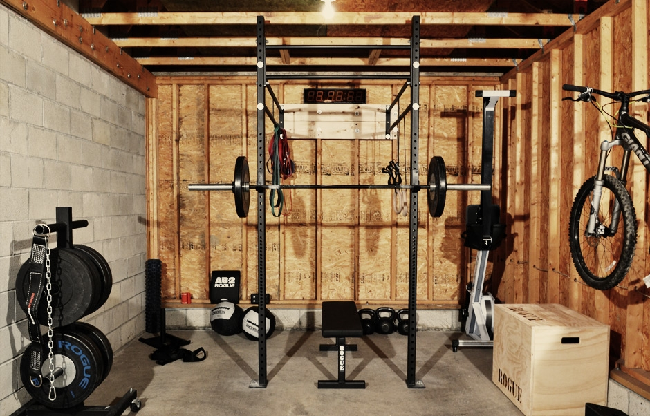 Equipment — garage gym athlete