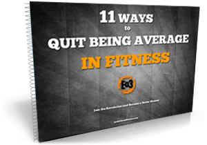 Quit being mediocre. Learn about End of Three Fitness. Become a better Human.