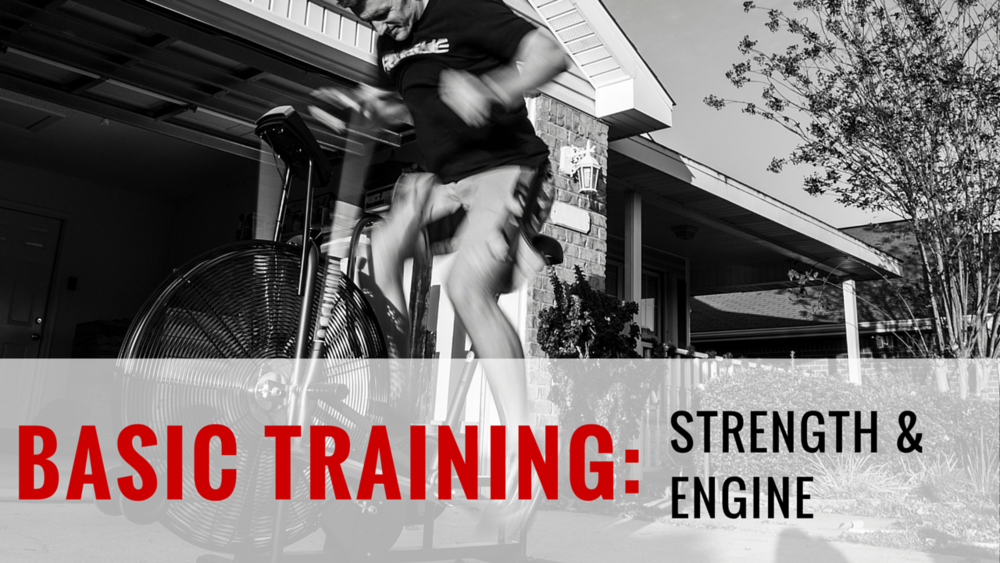 STRENGTH & ENGINE  5-Week Program | 35 Total Training Days | 36 Athlete Brief Videos | Goal: Increase overall raw strength, stamina and work capacity  We will be following popular strength templates with perfectly programmed accessory lifting and conditioning. This is a great start for an initial burst of strength and building work capacity before moving to more advanced strength programs at End of Three Fitness.