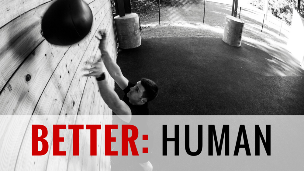 BETTER HUMAN 6-Week Program | 43 Total Training Days | 44 Athlete Brief Videos | Goal: Increase Your Total in 3 Lifts and Improve Metcons   We drop the explosiveness and power in this program and focus on getting your squat, deadlift and press increased. We also introduce dynamic efforts into your training while never neglecting your metabolic conditioning or core.