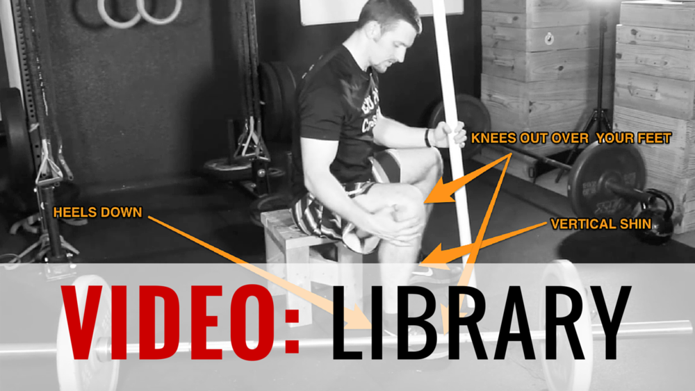 VIDEO LIBRARY Video Demos & Tutorials | 66 Videos (more on the way)    We have an ever-expanding video library where YOU know what WE mean when we refer to certain exercises.  The goal is the make sure you have a through tutorial on all the major movements and a solid demonstration of how to perform any of the smaller accessory movements.