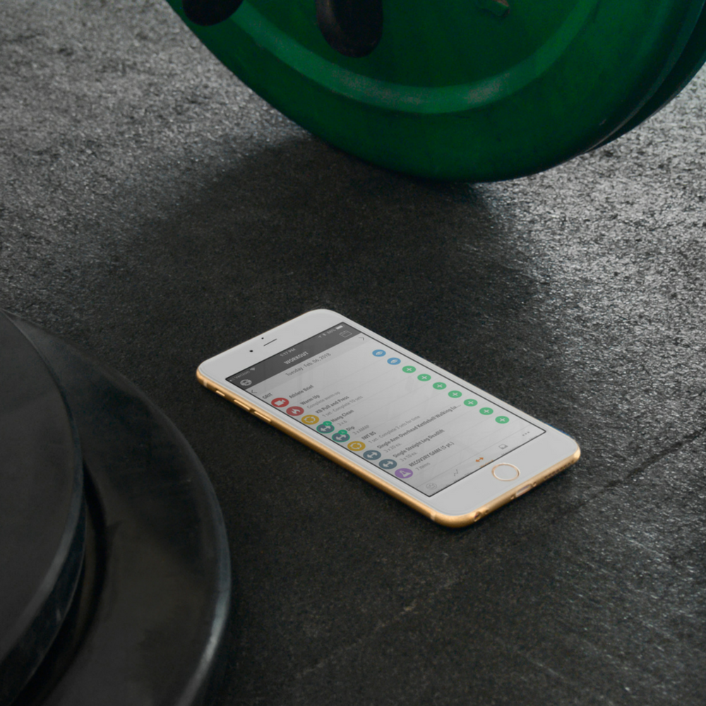 USE THE APP - Thanks to our partnership with Teambuildr, you'll have an easy way to log your workouts each day, track PRs, and your benchmarks. But that's not all, this dashboard allows you to:Communicate with coaches and other athletes in the Team Feed...Check the Leader Board to see where you stack up on certain workouts...And Access thousands of video tutorials so you always know what to do and how to do it!