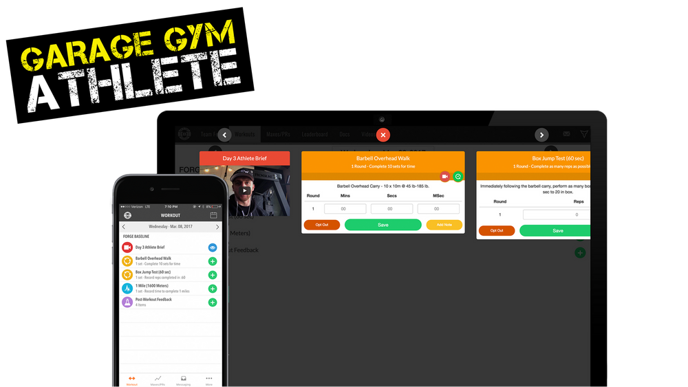 ENDURE TRACK - + Increase your Aerobic Base while also focusing on strength+ Crush your next long race!!+ 4 Weekly Workouts + Weekly Mobility Programming+ 50 min Block Programming+ Daily Athlete Brief Video + Demo Videos + Instructions+ Android and Apple App: Lift, WOD, & Benchmark Tracking+ BONUS: TRAINING CENTER (12+ Goal-Specific Training Programs)