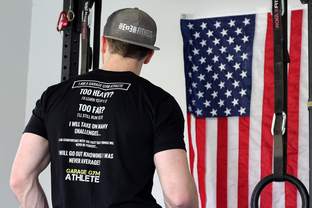 MERCH GIVEAWAY!! - Join Garage Gym Athlete during Garage-Gym-A-Palooza and we will be sending our different MERCH (hats, shirts, The Garage Gym Athlete Book, etc.)!! Only while supplies last!!