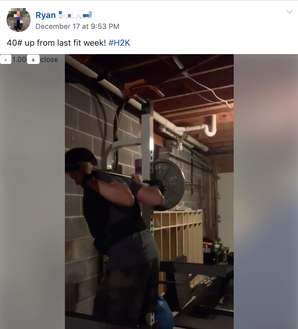 Pray for a struggle garage gym dtube fitness the church of