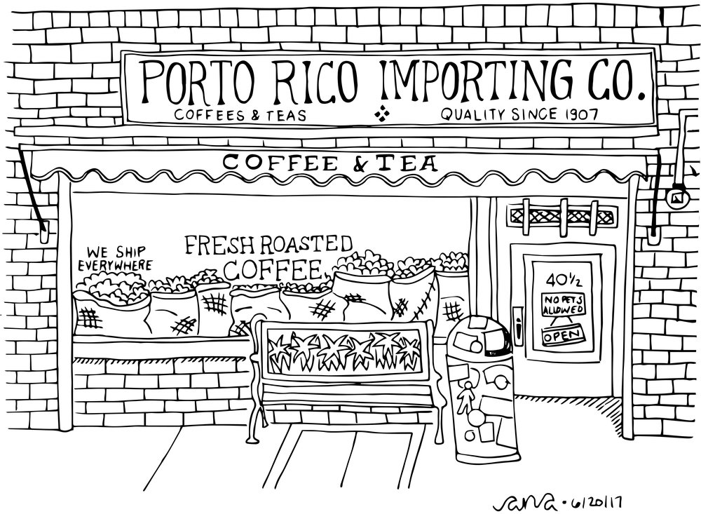 Porto Rico Importing Co Coffee The Spots Ana Handmade