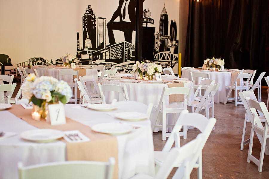 rehearsal dinner at monday night brewing by scarlet plan & design