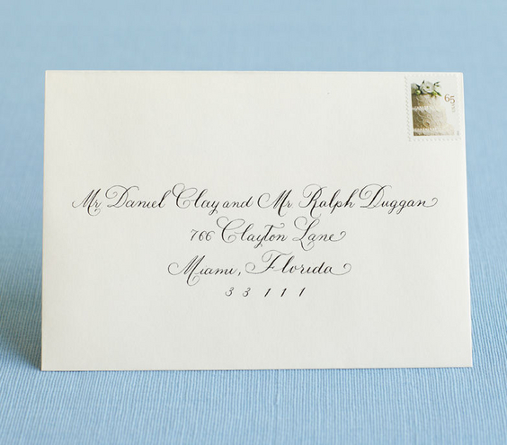 Addressing Wedding Invites can inspire you to create best invitation template