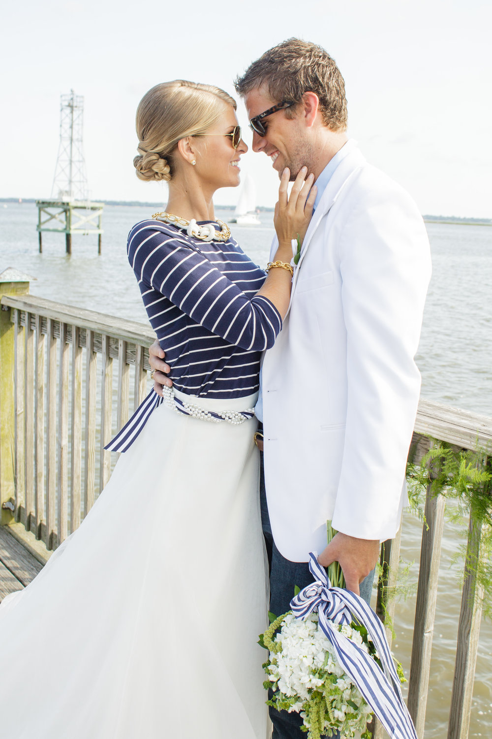 charleston nautical wedding inspiration