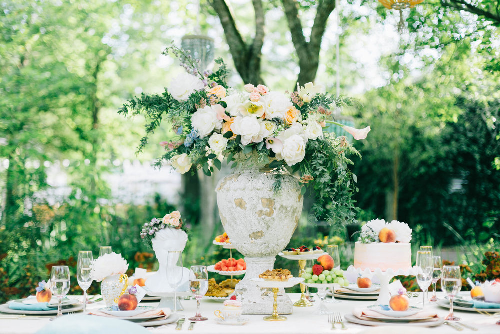 cypress gardens bridal shower shoot, charleston wedding planners