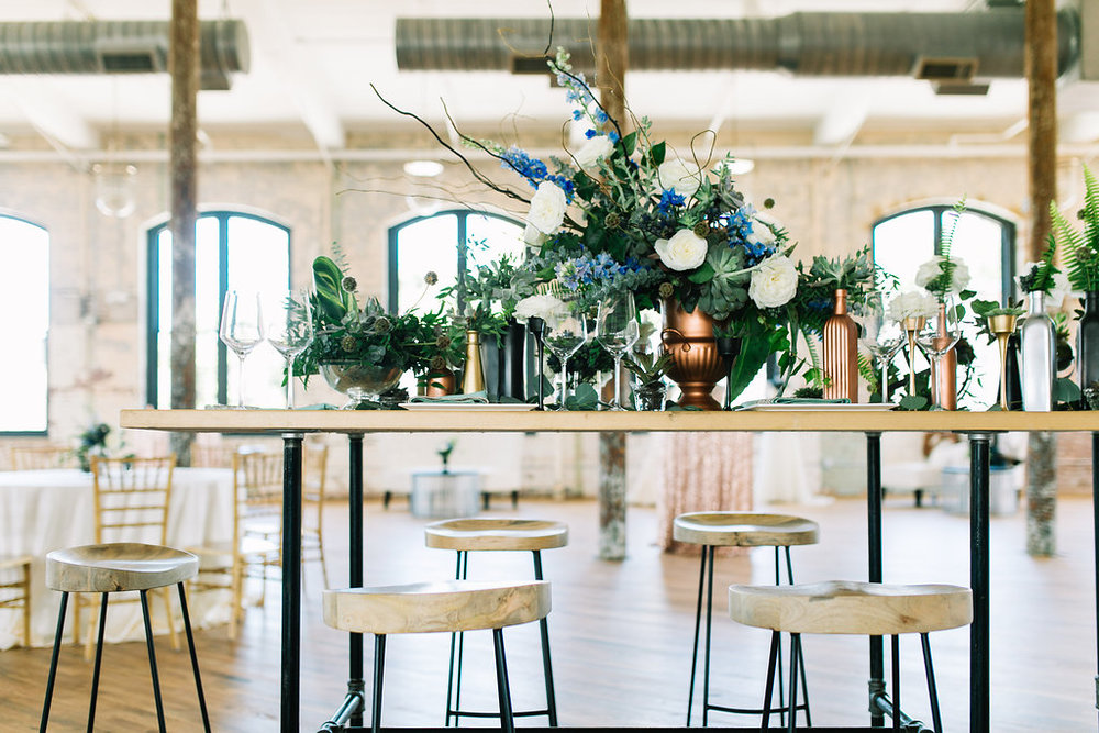 modern, industrial, mixed metals wedding at cedar room in charleston by scarlet plan & design (264).jpg