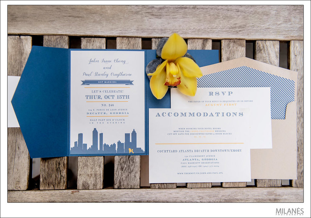 How to Address Your Wedding Invitations | Wedding Invitation Etiquette | Charleston, Atlanta, Greenville Wedding Planners
