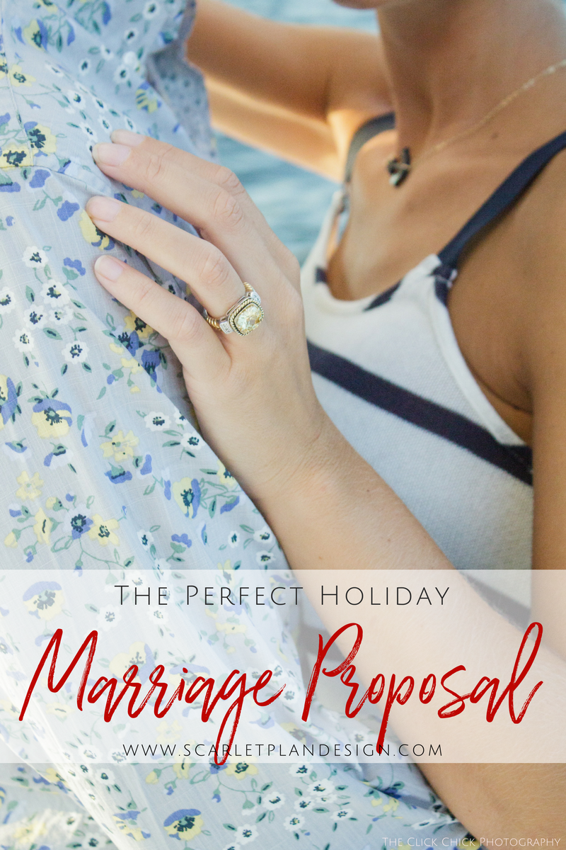 Perfect Romantic Holiday, Christmas, New Years Eve Marriage Engagement Proposal - Charleston, Greenville, Destination Marriage Proposal Planners, Scarlet Plan & Design | Charleston, Atlanta, Greenville, New Orleans, Destination Luxury Marriage Proposal Planners