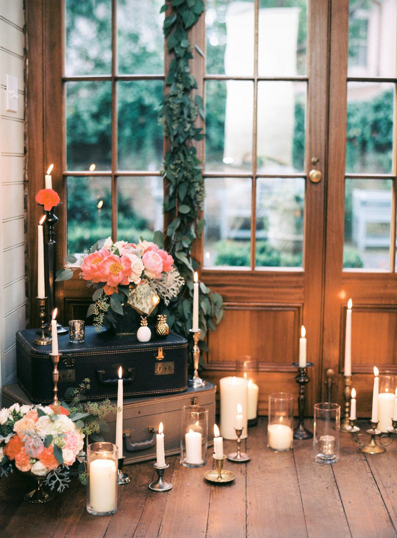 charleston elopement planners, scarlet plan & design, coral, tangerine, hot pink, peach intimate wedding (20).jpg