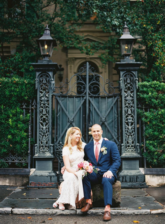 charleston elopement planners, scarlet plan & design, coral, tangerine, hot pink, peach intimate wedding (21).jpg