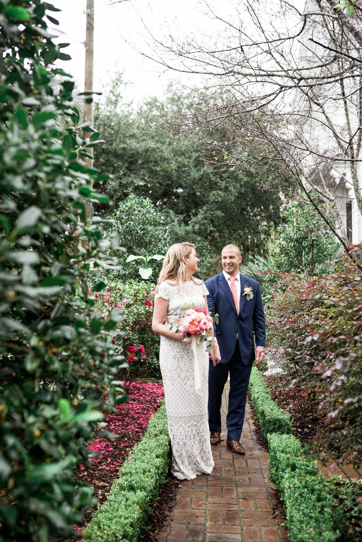 charleston elopement planners, scarlet plan & design, coral, tangerine, hot pink, peach intimate wedding (47).jpg