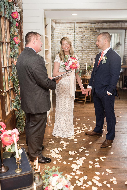 charleston elopement planners, scarlet plan & design, coral, tangerine, hot pink, peach intimate wedding (62).jpg