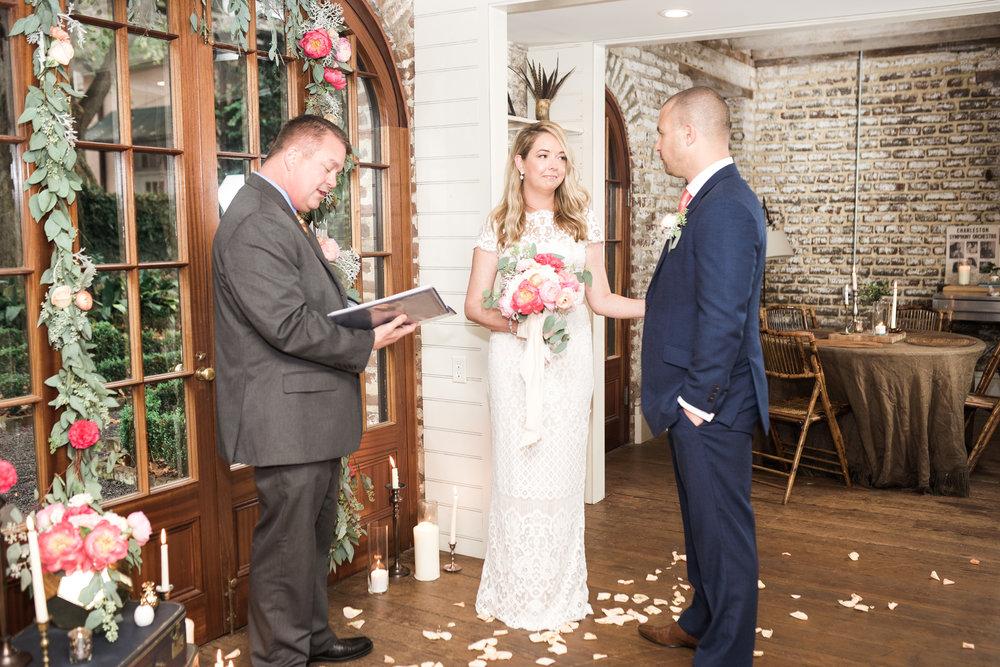 charleston elopement planners, scarlet plan & design, coral, tangerine, hot pink, peach intimate wedding (59).jpg