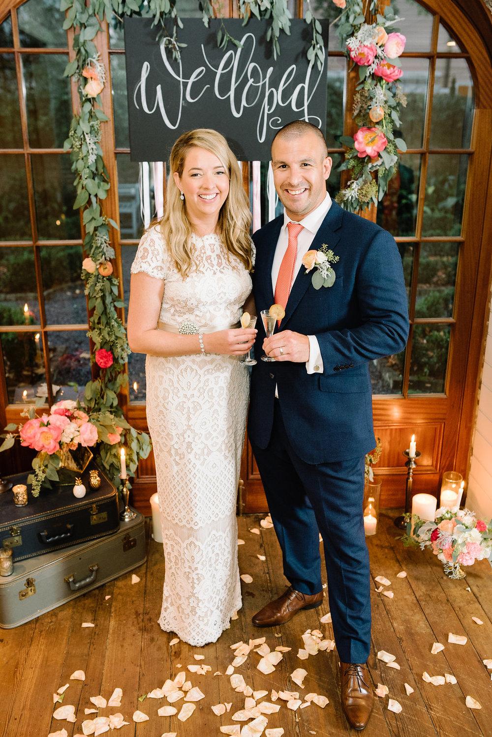 charleston elopement planners, scarlet plan & design, coral, tangerine, hot pink, peach intimate wedding  (11).jpg