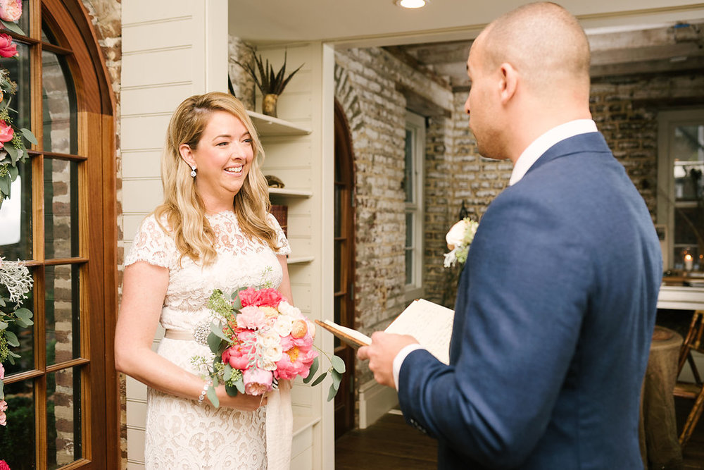 charleston elopement planners, scarlet plan & design, coral, tangerine, hot pink, peach intimate wedding  (6).jpg