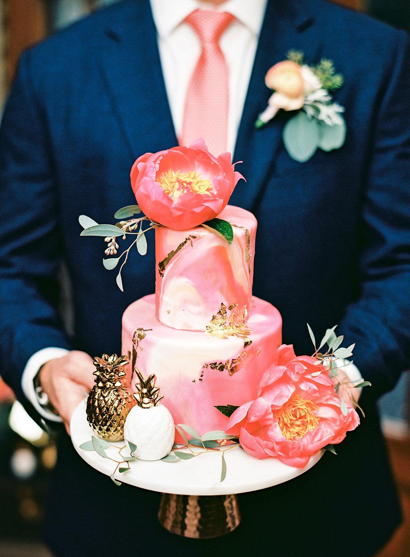 charleston elopement planners, scarlet plan & design, coral, tangerine, hot pink, peach intimate wedding (25).jpg