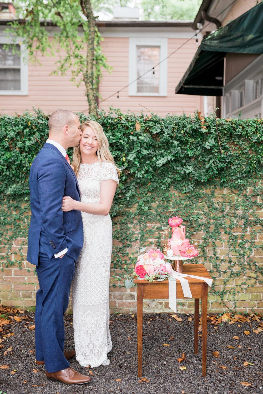 charleston elopement planners, scarlet plan & design, coral, tangerine, hot pink, peach intimate wedding (78).jpg