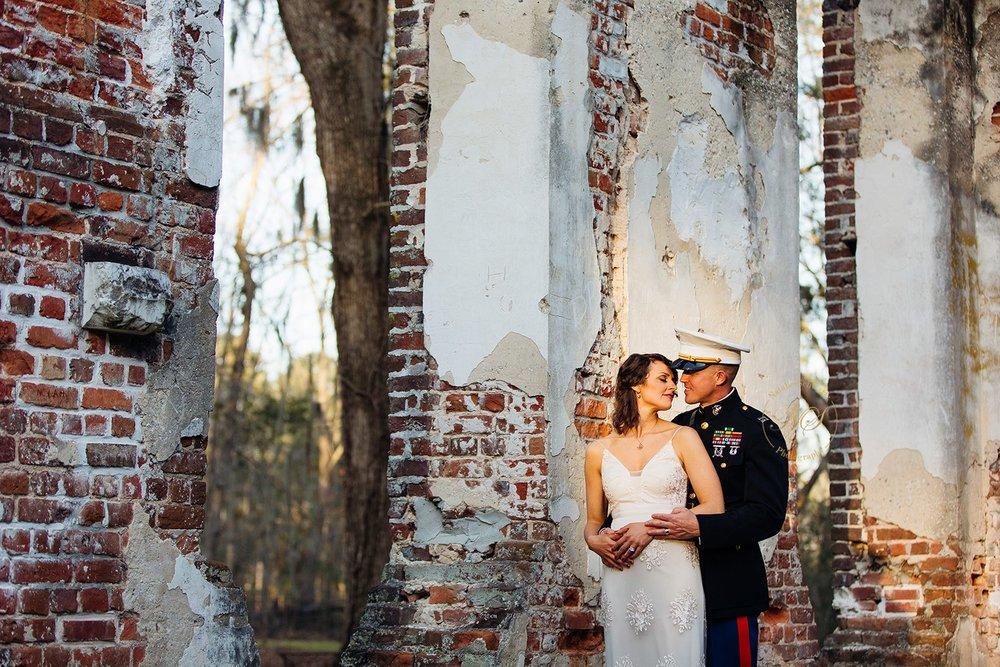 Old Sheldon Church Ruins Beaufort, South Carolina - Elopement Wedding - Scarlet Plan & Design (262).jpg