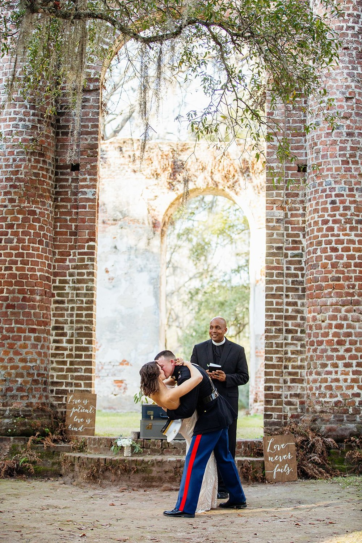 Old Sheldon Church Ruins Beaufort, South Carolina - Elopement Wedding - Scarlet Plan & Design (188).jpg