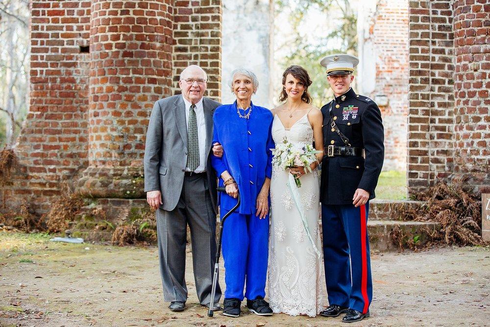 Old Sheldon Church Ruins Beaufort, South Carolina - Elopement Wedding - Scarlet Plan & Design (201).jpg
