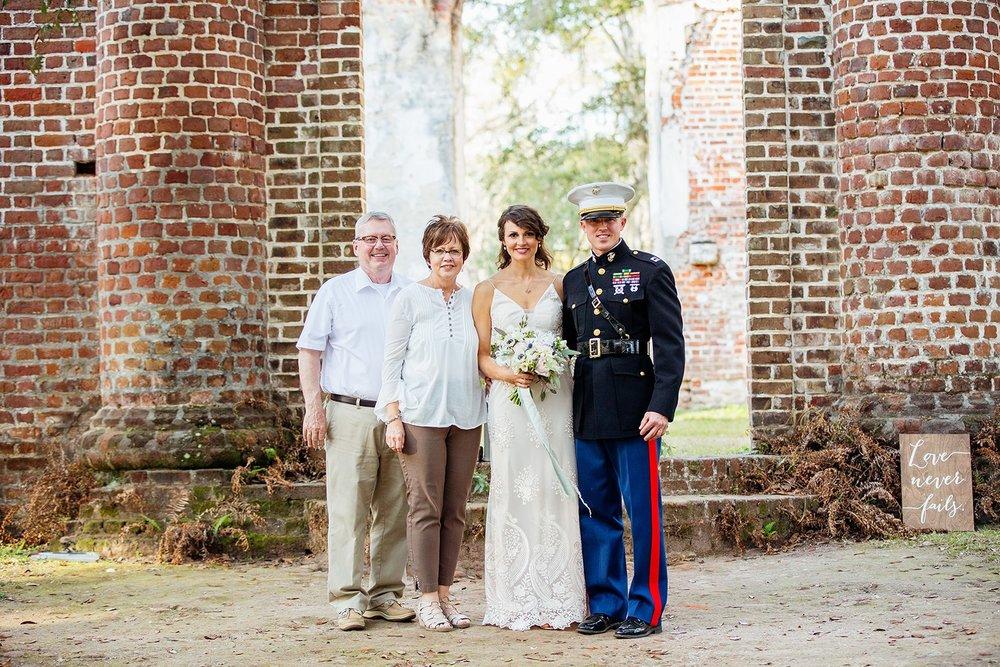Old Sheldon Church Ruins Beaufort, South Carolina - Elopement Wedding - Scarlet Plan & Design (207).jpg
