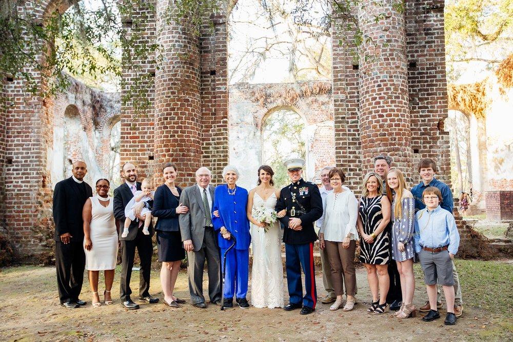 Old Sheldon Church Ruins Beaufort, South Carolina - Elopement Wedding - Scarlet Plan & Design (226).jpg