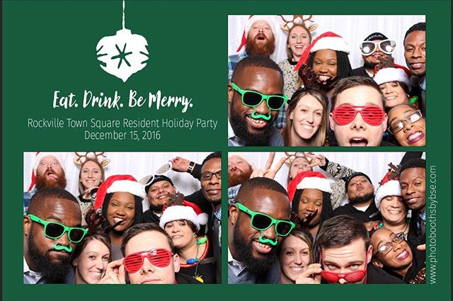 We had a blast hanging out with the staff and residents at @fenestraapts for their #HolidayParty last night!