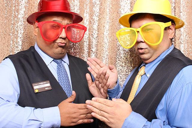 Photo booth pose no. 26: The Robot. Celebrating the start of 2017 with @hgi_arlington! #eventsbybse #photobooth