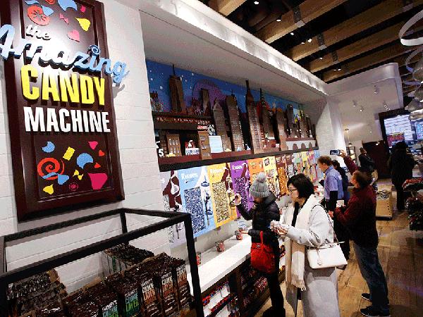 HERSHEY'S CHOCOLATE WORLD - New York, New York
