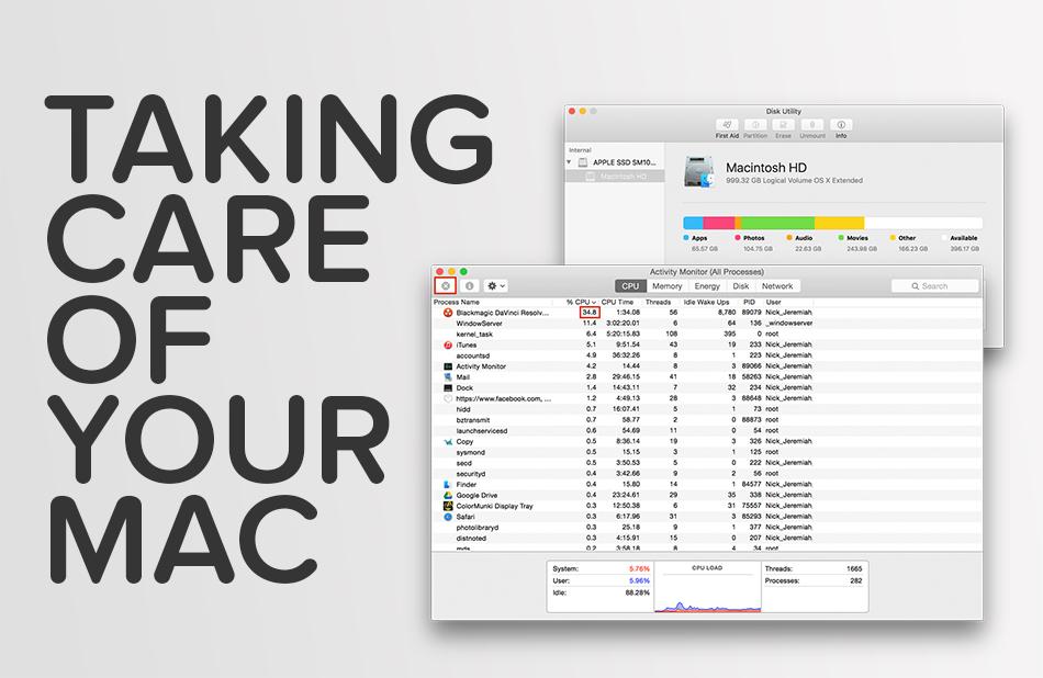 Mac Maintenance | nickdjeremiah.com