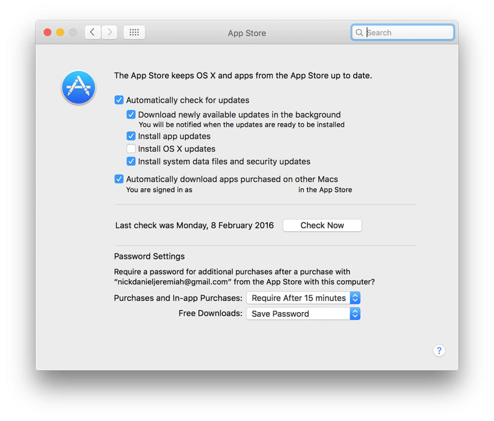 App Store Updates - Mac Maintenance | nickdjeremiah.com