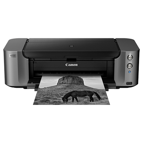 Canon PIXMA Pro 10s - • Adobe RGB 1998 Printing• LUCIA 10-Colour Ink• Prints up to A3 Size• Wireless Printing (Apple AirPrint)• CD/DVD Printing Capability