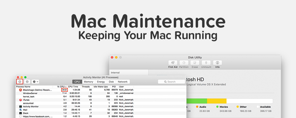 Mac Maintenance | nickdjeremiah.com