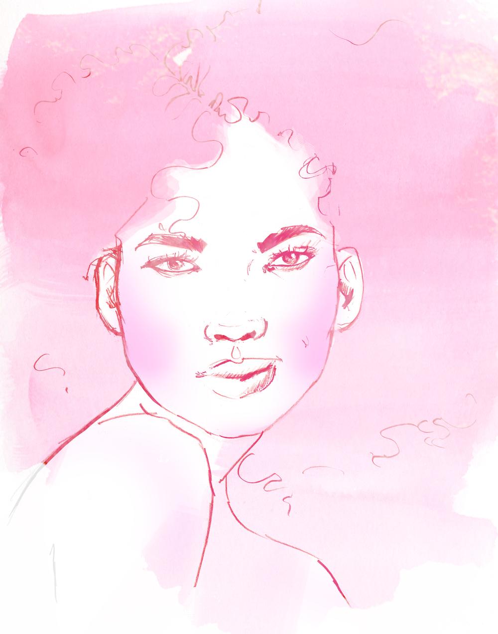 Beauty Sketch